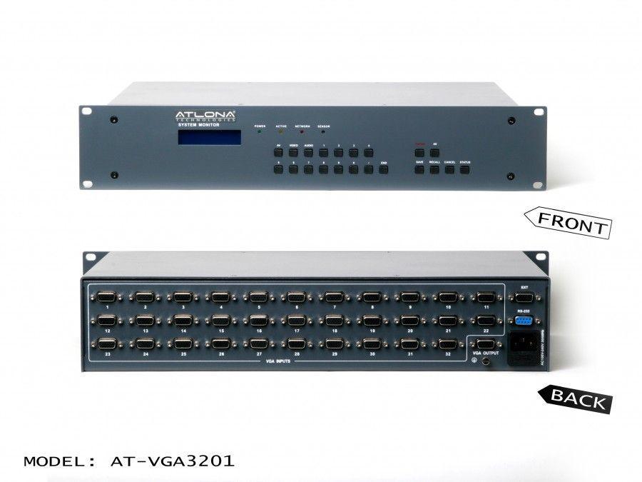 Atlona AT-VGA3201 32x1 Professional VGA Switch