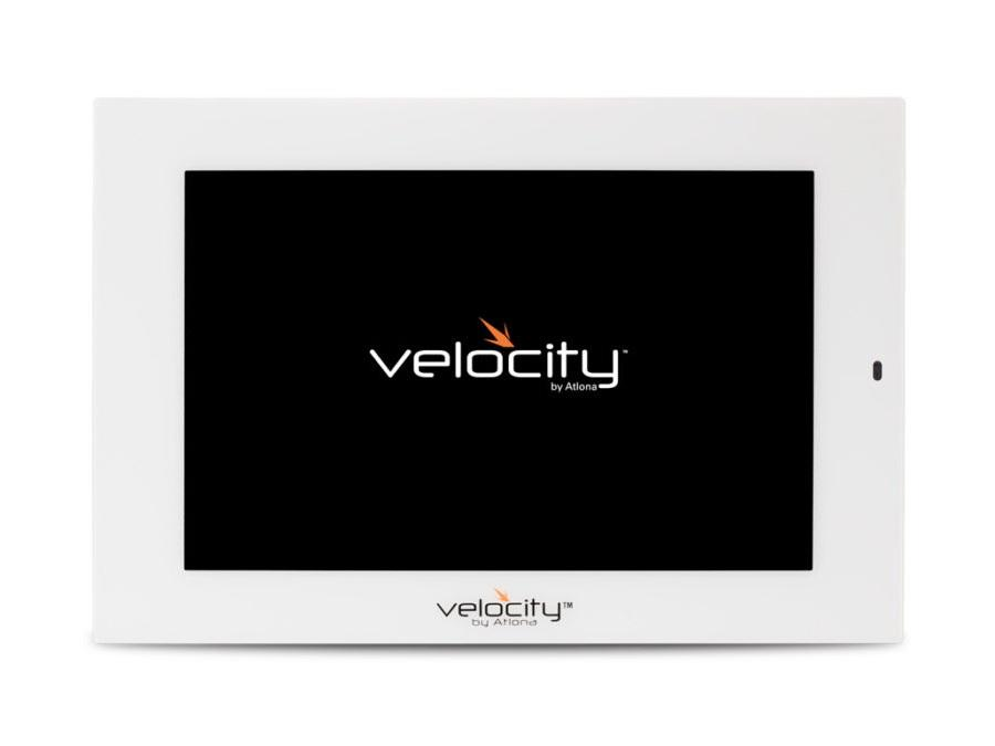 Atlona AT-VTP-800-WH-b 8 inch 1280x800 Touch Panel for Velocity Control System - White