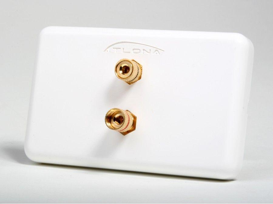 Atlona AT80020 HIGH-QUALITY WALL PLATE FOR 1 SPEAKER
