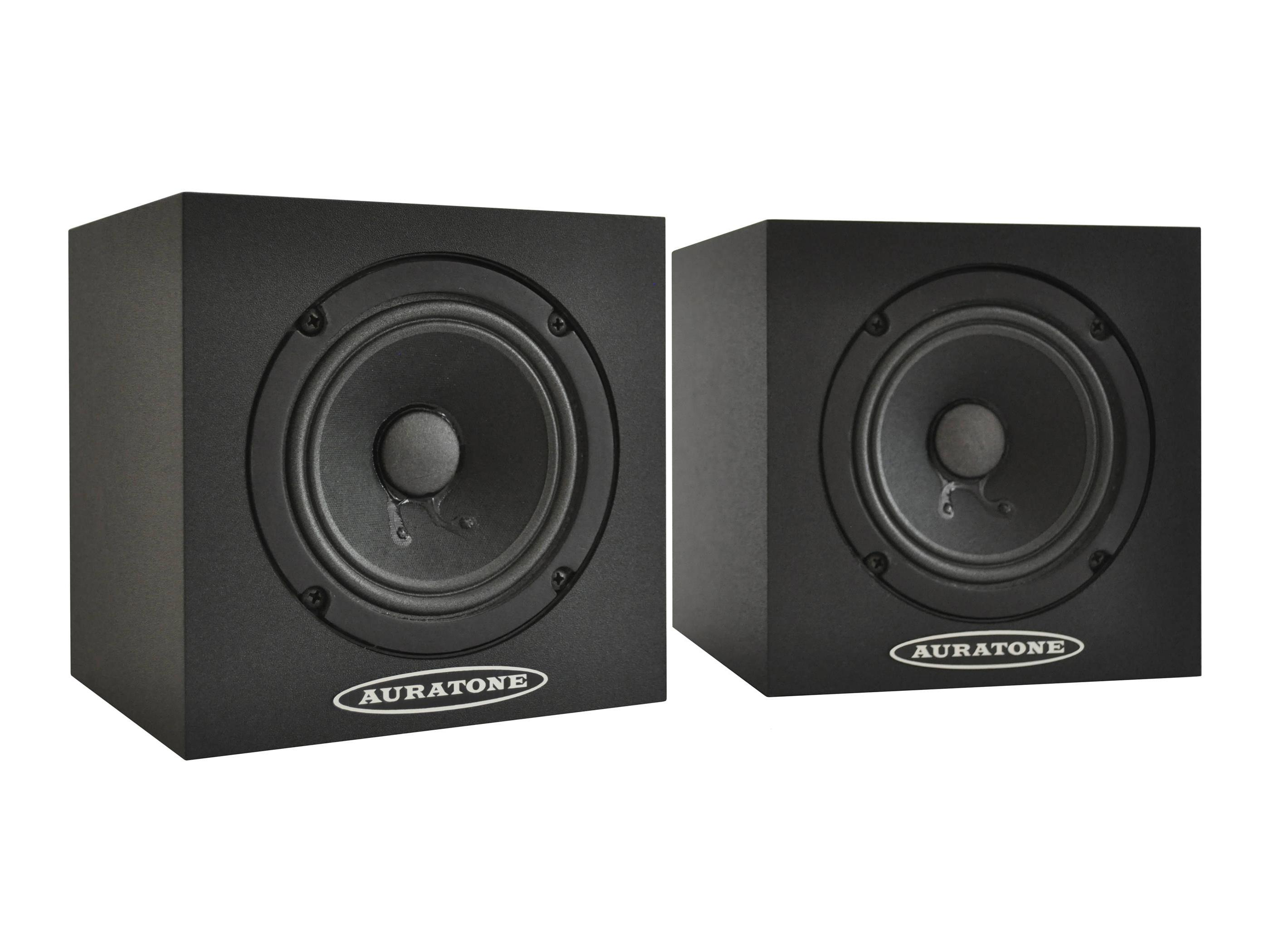 Auratone 5C Black Super Sound Cube/Passive Monitor/80-15000 Hz/Black (pair)