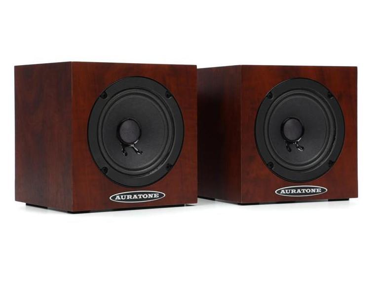 Auratone 5C Mahogany Super Sound Cube/Passive Monitor/80-15000 Hz/Mahogany (pair)