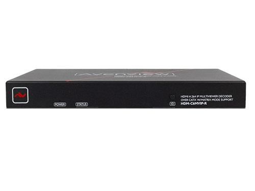 Avenview HDM-C6MVIP-R Multiview IP Decoder Over CATx W/ Matrix Support