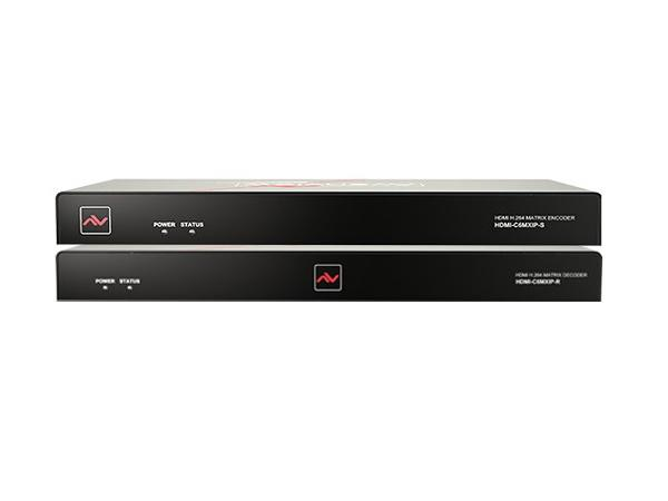 Avenview HDM-C6MWIP-SET HDMI H.264 IP Matrix Decoder/Encoder Over CATx w VW Mode