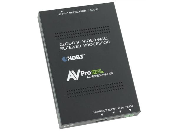 AVPro Edge AC-EX150VW-C9R 150m IR/RS232 Pass-Through Full HD Video Wall Cloud 9 Extender (Receiver)