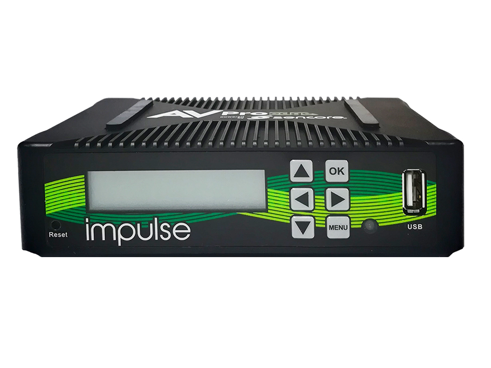 AVPro Edge AC-IMPULSE-PLUS-b HDMI/SDI Compact Single-Channel Broadcaster and Streamer