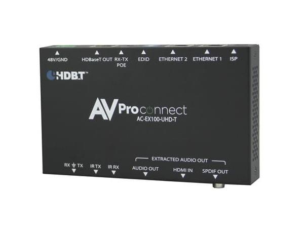 AVPro Edge AC-EX100-UHD-T 100M HDBaseT Extender (Transmitter) with RS-232/IR/Audio Extraction