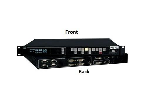 Barco R9004694 PDS-902 3G 9x5 DVI/Analog/SDI high-quality screen switching for live events