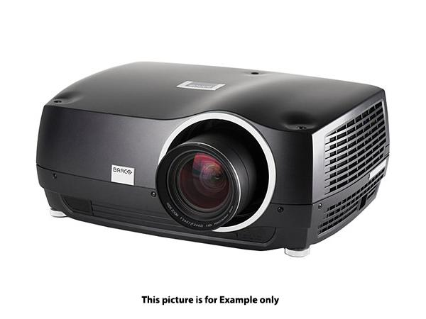 Barco R9023277 F32 1080 7650 lumens High Brightness (MKIII) Projector/No lens/Pearl White