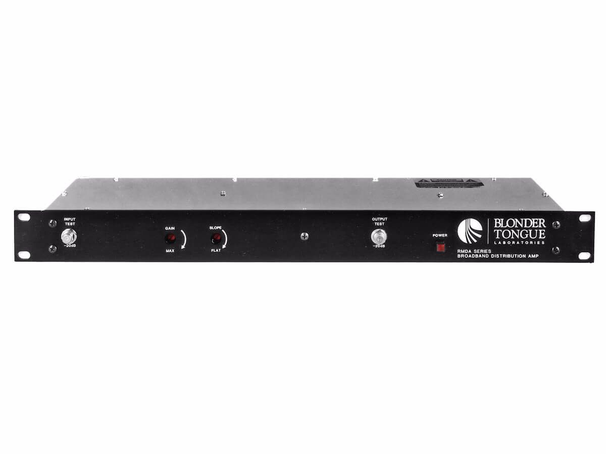 Blonder Tongue RMDA 550-50 47-550 MHz/50 dB Rack Mounted Hybrid Distribution Amplifier