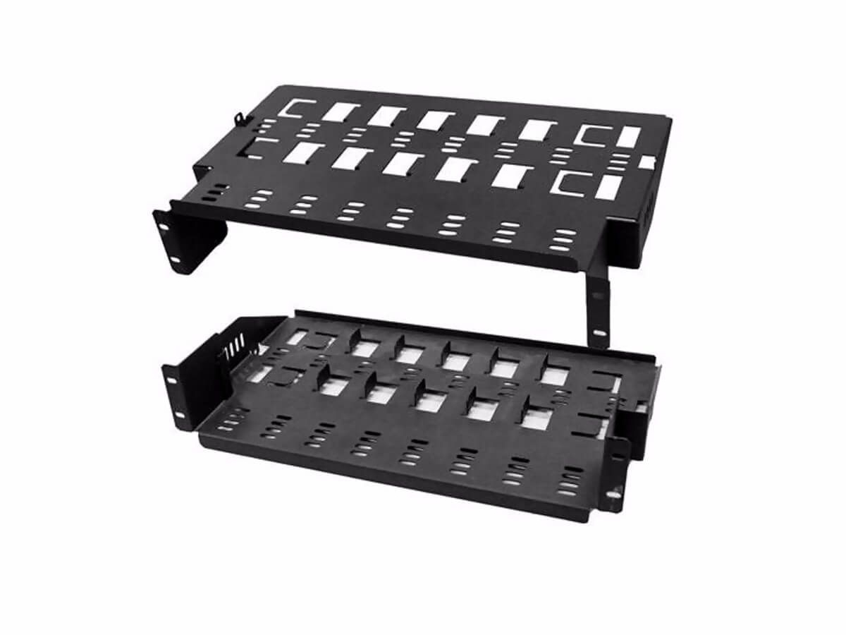 Blonder Tongue RXS-8 Multi Device Rackmount Shelf/For 8 DirecTV D12 Receivers
