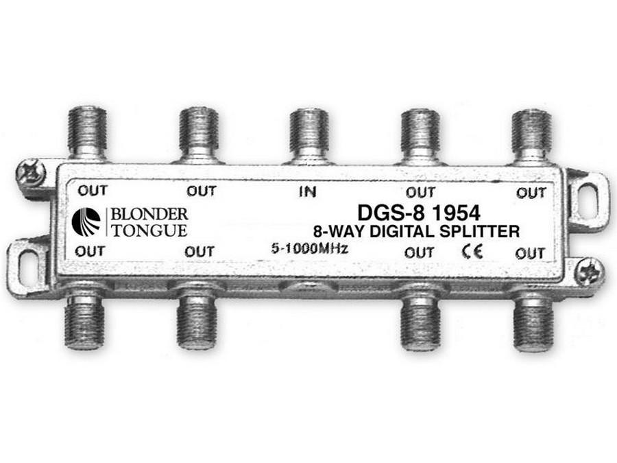 Blonder Tongue DGS-8 Digital Ready Splitter 8 Way - Balanced Split