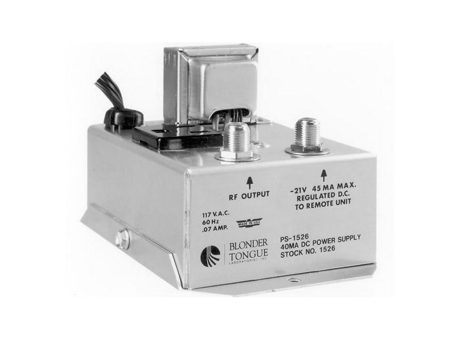 Blonder Tongue PS-1526 21 VDC At 40mA Power Supply Single Output