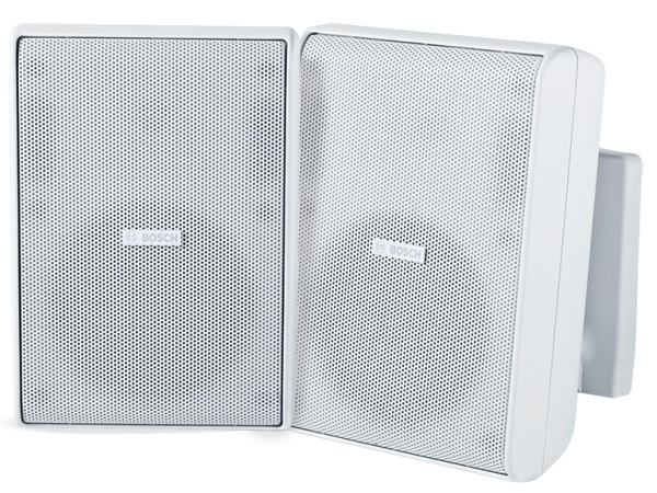 Bosch LB20-PC30-5L Quick Install Speaker 5 inch Cabinet 70/100V/White/IP54 (Pair)
