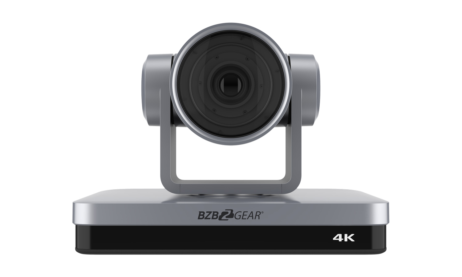 BZBGEAR BG-4KPTZ-12XUHP 12X PTZ 4K HDMI/USB 3.0 Live Streaming Camera Series With Sony CMOS (Gray)