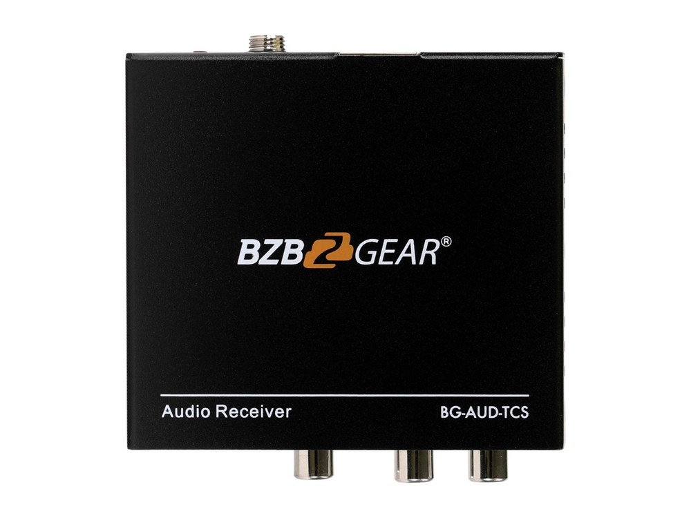 BZBGEAR BG-AUD-TCS Stereo/TOSLINK/COAX Audio Extender (Transmitter/Receiver) over Cat5e/6/7 upto 950ft