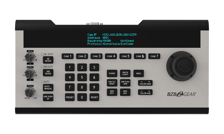 BZBGEAR BG-CJ-IPRSPRO Professional IP/RS232/422/RS485 Controller Joystick Gen2