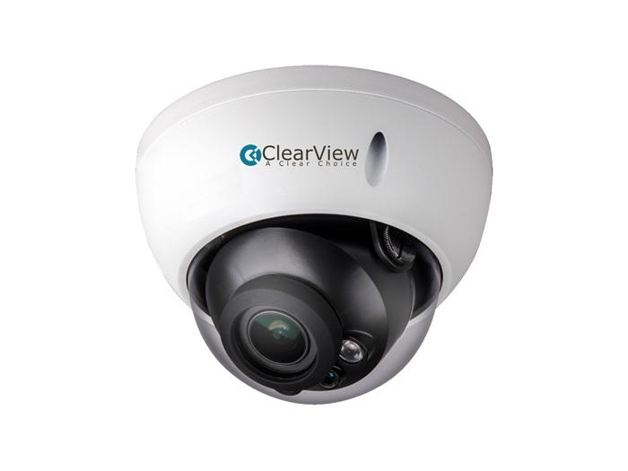 ClearView HD2-D27-M 2.5 Megapixel 2.7-12mm Motorized Zoom Camera and 90ft IR Range