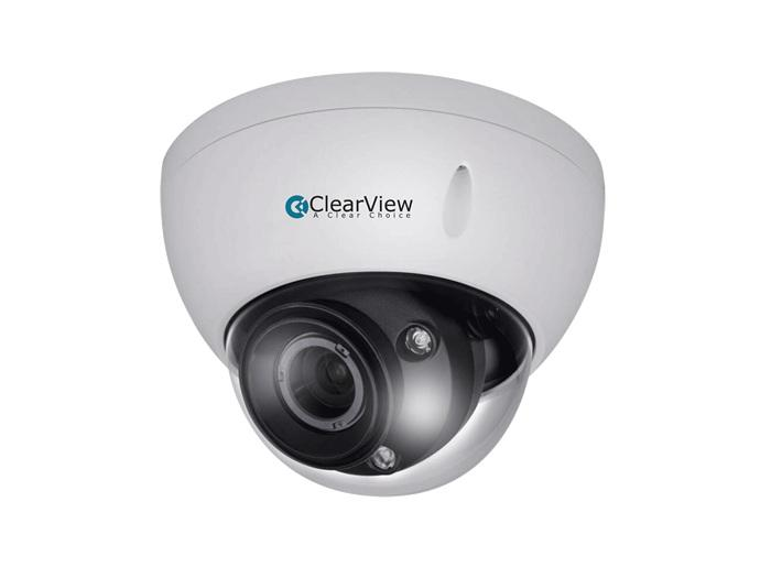 ClearView HD2-VD27-MS 2.0 Megapixel HD-AVS IR Dome 2.7-12mm Motorized 165ft Starlight Camera Smart IR