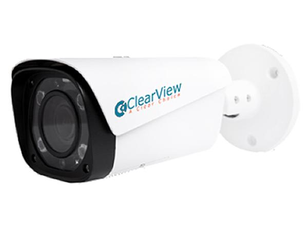 ClearView IPB-95Z 4MP Mid Size Bullet Camera with 2.7-12mm Motorized Zoom/100ft Smart IR
