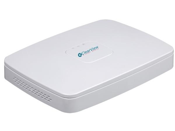 ClearView PhoenixPlus-08 8 Channel NVR 5 Megapixel NVR with 8 PoE Port