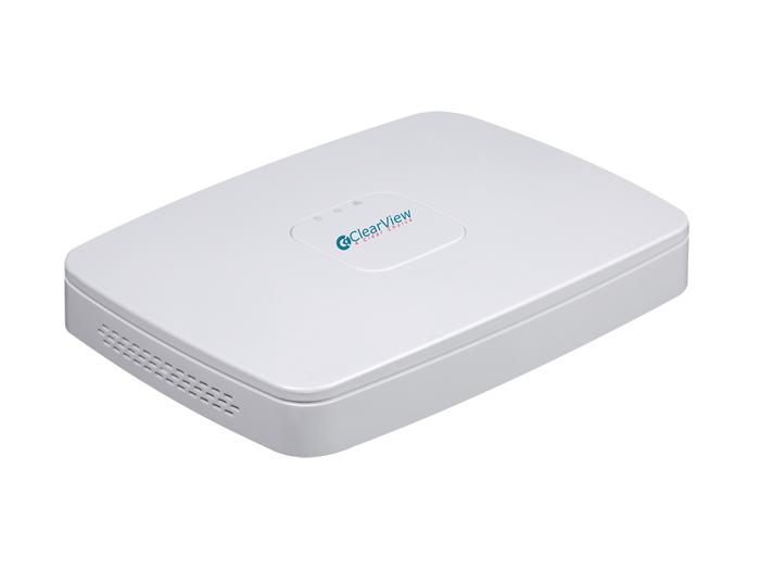 ClearView PhoenixPlus-08M-V2 8 Ch 720P 4Ch 1080P 2 Ch 4 MP Recording Includes 1 TB with 8 PoE Port