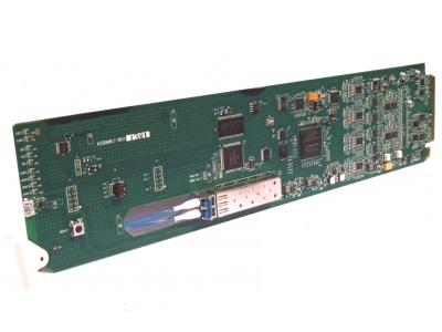 Cobalt Digital 9433-EMDE-75/110-OE SDI Fiber-Optic OE Extender (Receiver)/16-Channel AES