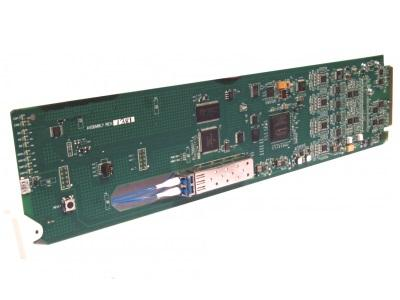 Cobalt Digital 9433-EMDE-ADDA-EOOE SDI Fiber-Optic Transceiver 16Ch AES/8Ch Audio