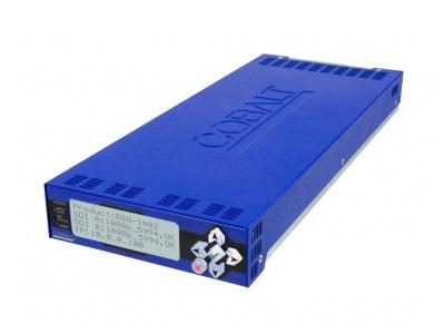 Cobalt Digital BBG-1002-2UDX-D-DIN 3G/HD/SD-SDI Dual-Channel Up/Down/Cross Converter/Frame Sync/Embed/De-Embed/Coax Connectors DIN 1.0/2.3
