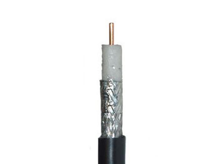 Covid COV3100-CQ-1KR RG6/Quad Shield/Plenum Cable - 1000ft Reel