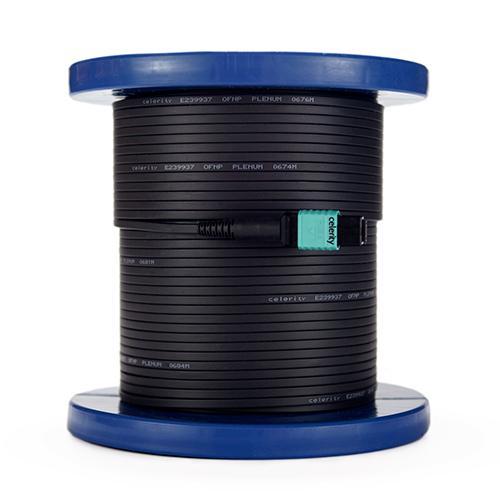 Covid CEL-UFO-160P Celerity Universal Fiber Optic Plenum HDMI cable - 160ft