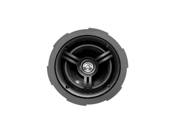 Current Audio CS501FL 5.25 inch 2 Way/In Ceiling/Coaxial/Infinite Baffle Loudspeaker with FastLoc Grille/Pair