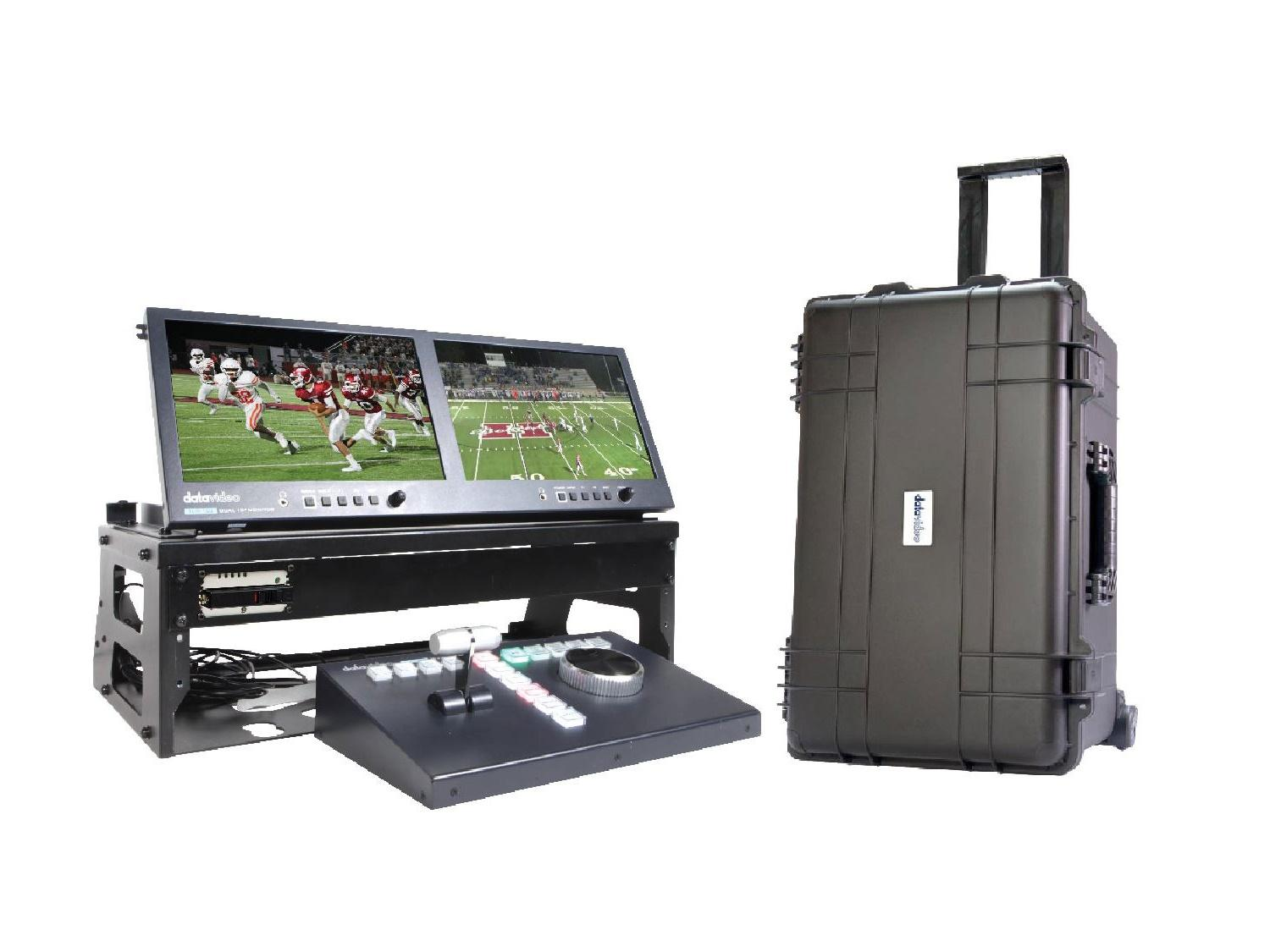 Datavideo GO-1REPLAY STUDIO Complete Replay Kit with Rolling Case