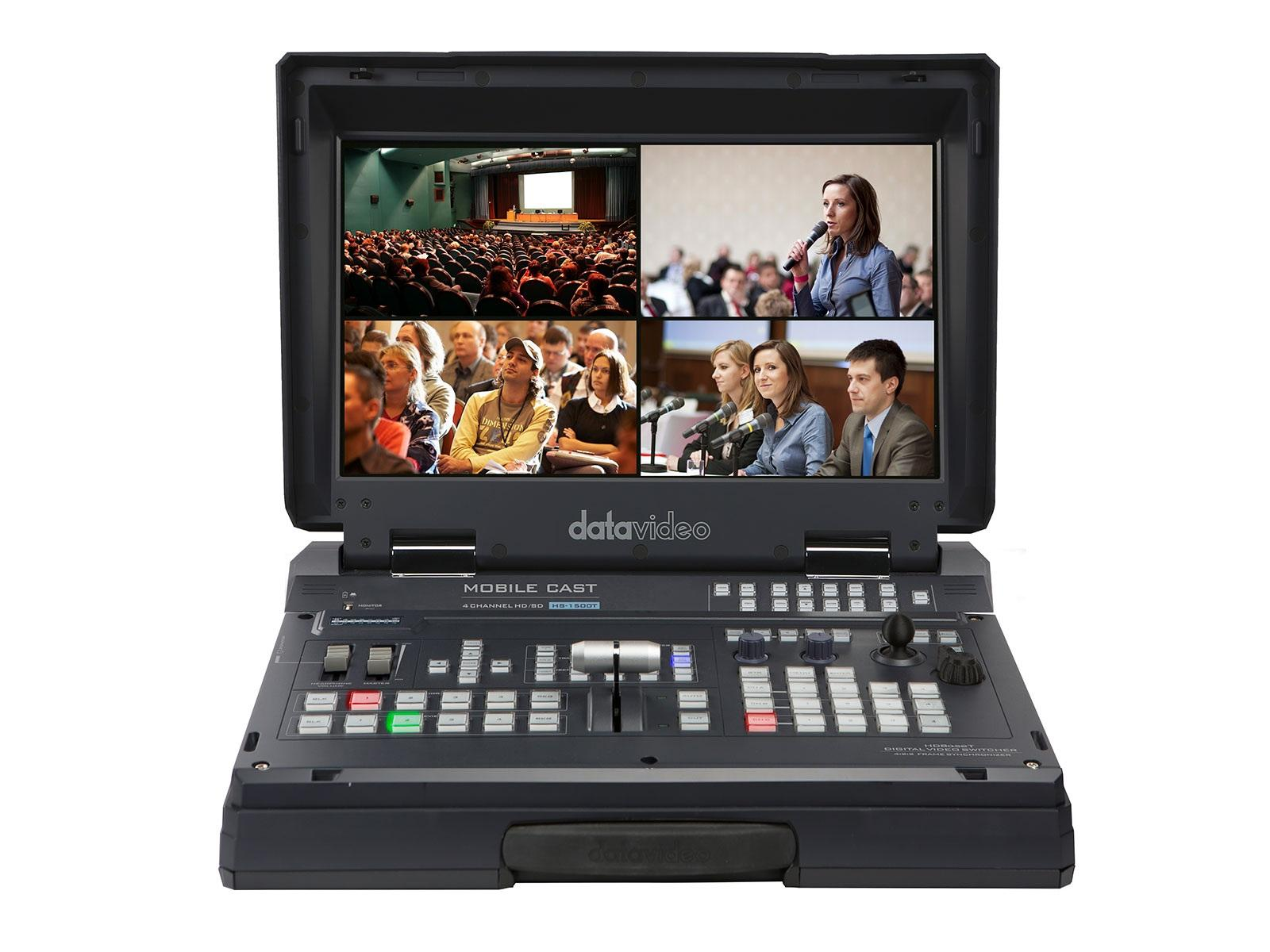 Datavideo HS-1500T 4-Channel HDBaseT/HDMI Portable Production Switcher