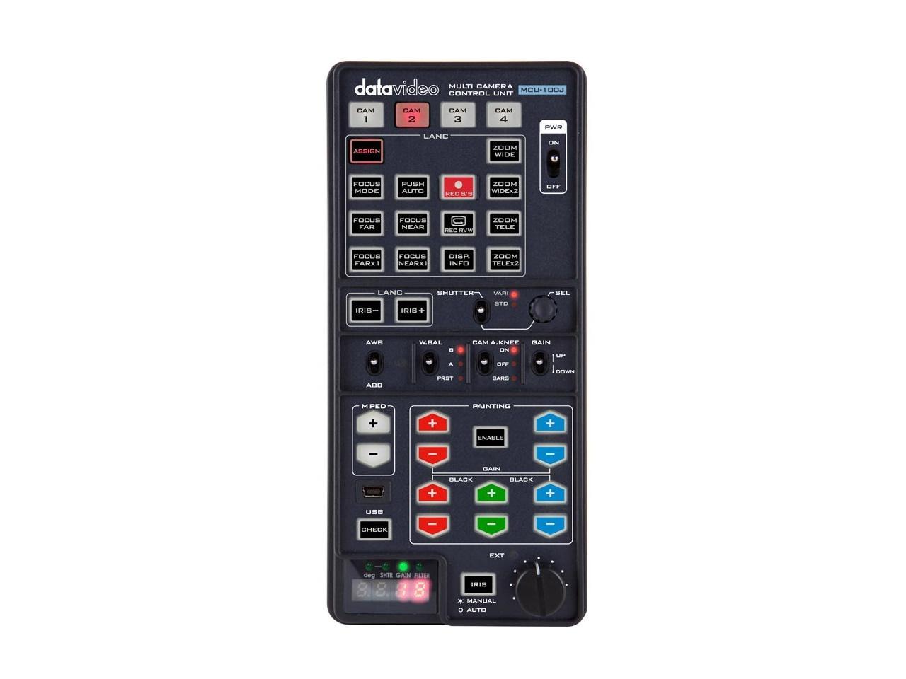 Datavideo MCU-100J Multi-Camera Control Unit - JVC