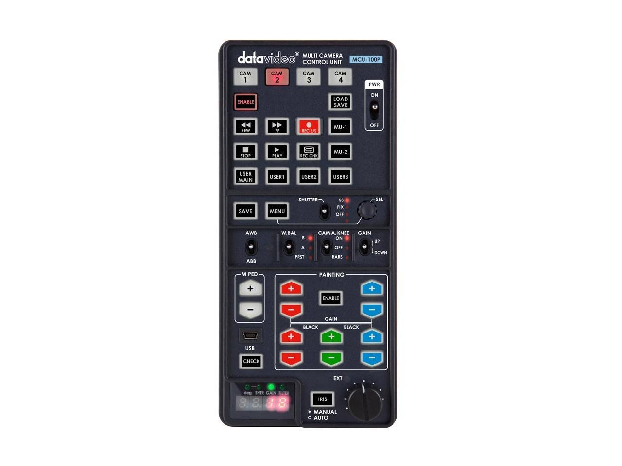 Datavideo MCU-100P Multi-Camera Control Unit - Panasonic