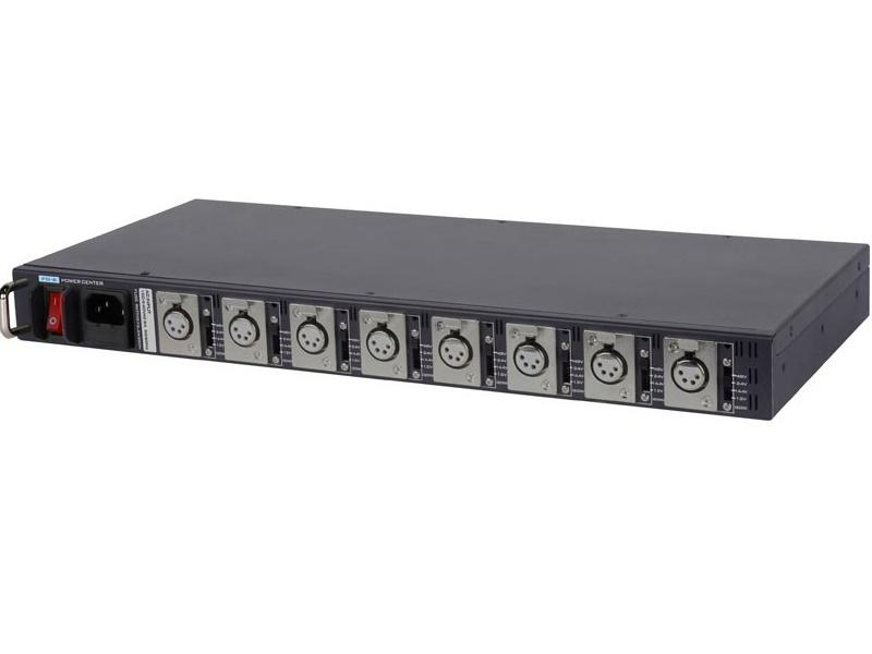 Datavideo PD-6 19 inch 1RU Rack Mountable Universal AC to DC Power Distributor