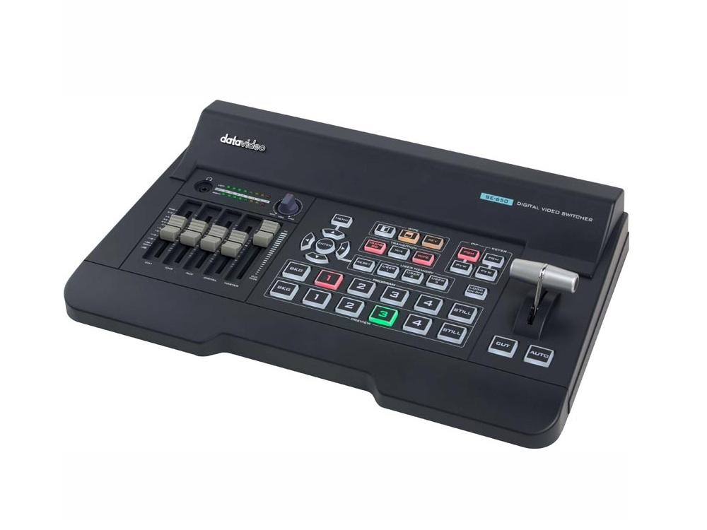 Datavideo SE-650 4 Input HDMI/HD-SDI digital video switcher with built-in audio mixer