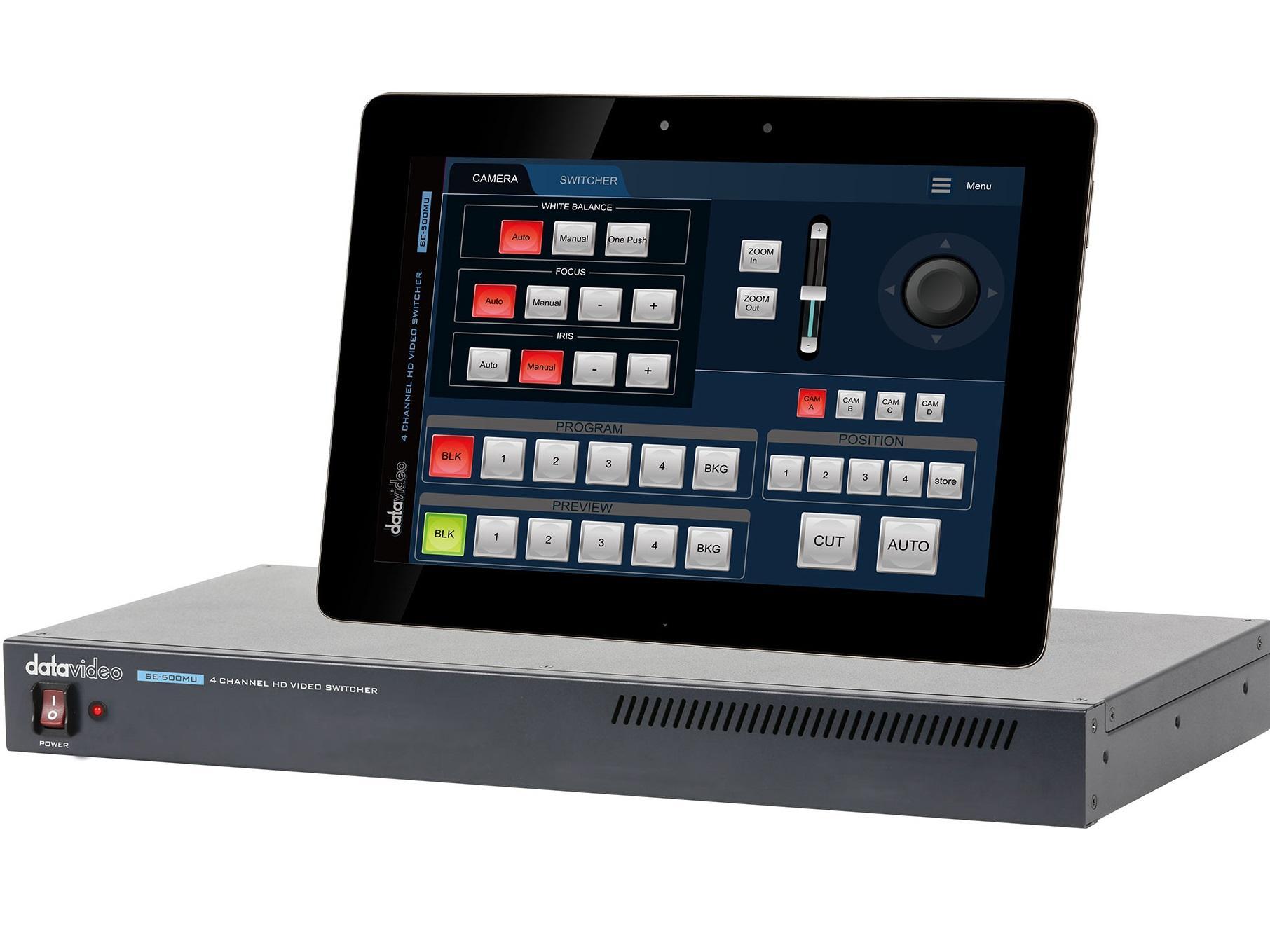 Datavideo SE-500MU 4 Channel HD Video Switcher