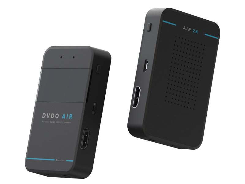 DVDO Air 2K 1080p 60GHz Uncompressed Wireless HDMI Extender (Transmitter/Receiver) Set up to 10m