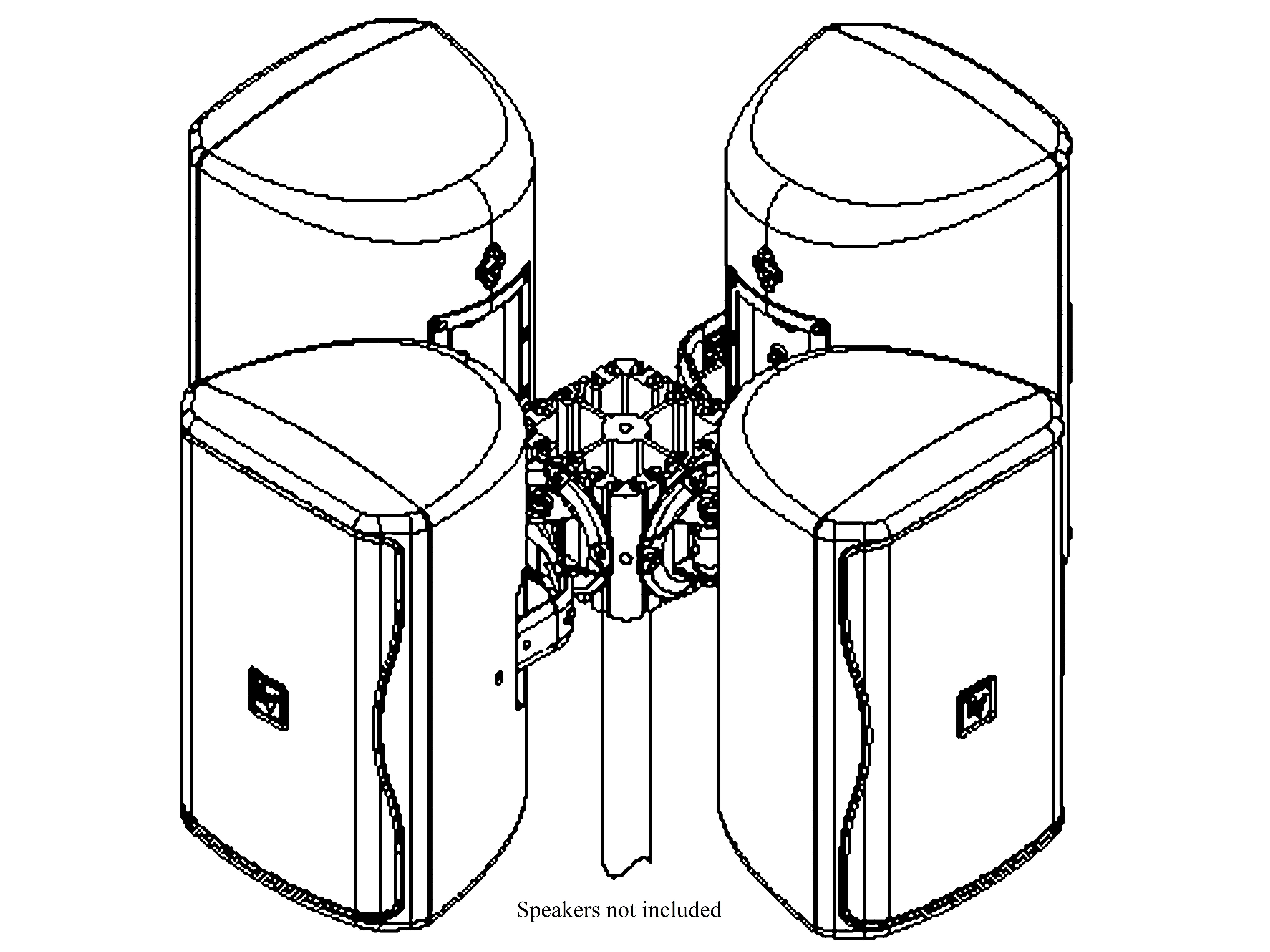 Electro-Voice ABZE Universal Array Bracket Mounting System
