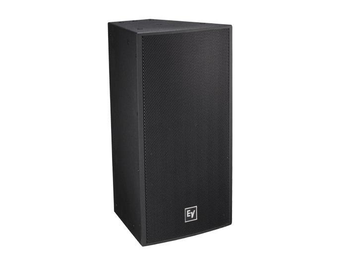 Electro-Voice EVF1122S/66FGB 12 inch 2-Way Full-Range Loudspeaker/SMX Woofer/ND2B Driver/60x60deg/Fiberglass/Black