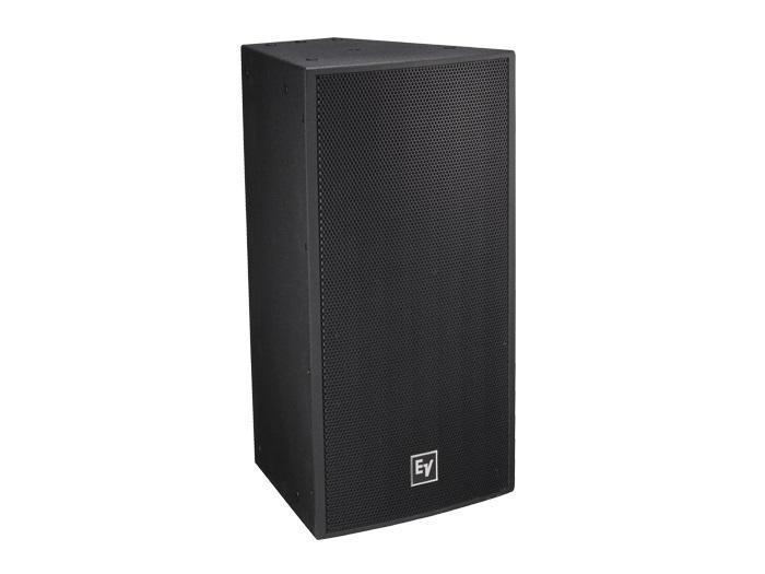 Electro-Voice EVF1122S/99FGB 12 inch 2-Way Full-Range Loudspeaker/SMX Woofer/ND2B Driver/90x90deg/Fiberglass/Black