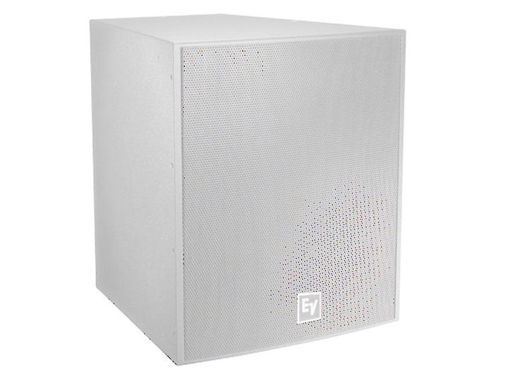 Electro-Voice EVF1181SPIW 18 inch 400W Front-Loaded Subwoofer/Bi-Amp Only/Evcoat/Pi-Weatherized/White