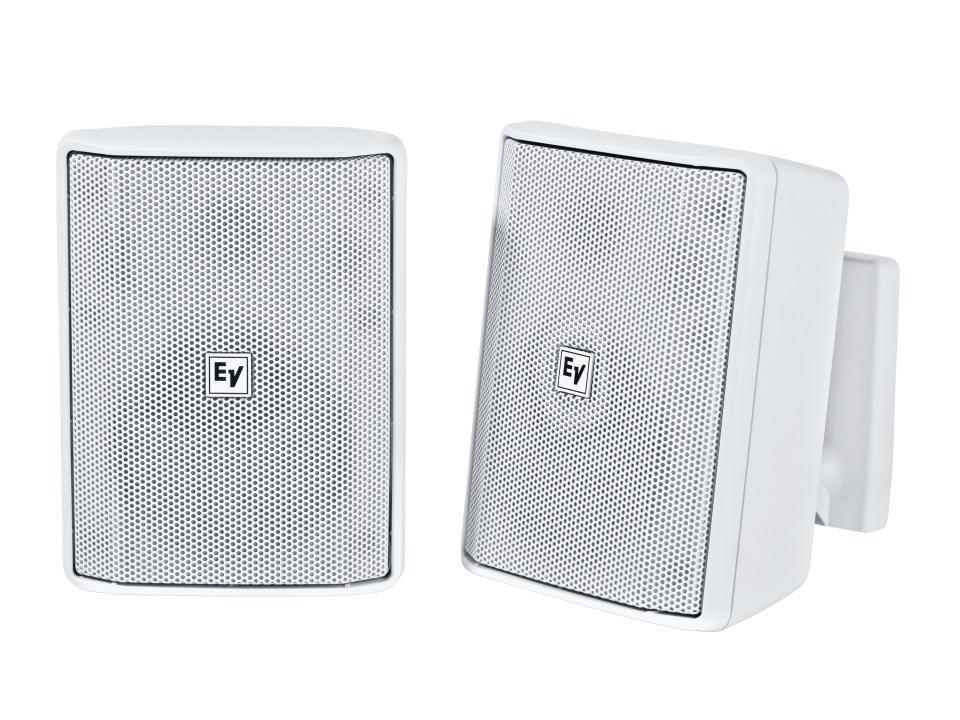 Electro-Voice EVIDS4.2TW 4 inch 70/100V Speaker Cabinet (White/Pair)