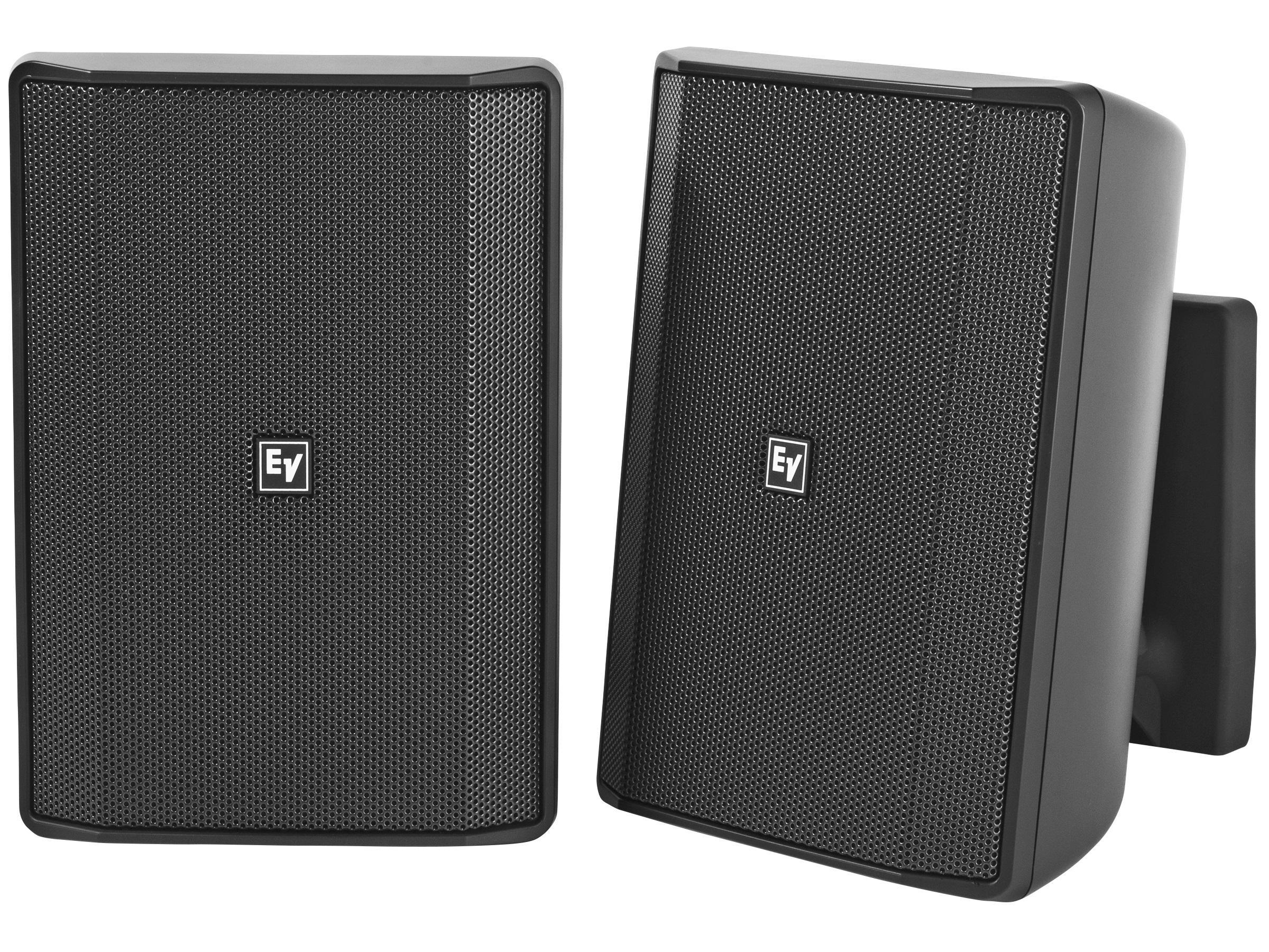 Electro-Voice EVIDS5.2B 5 inch Speaker Cabinet/8Ohm (Black/Pair)