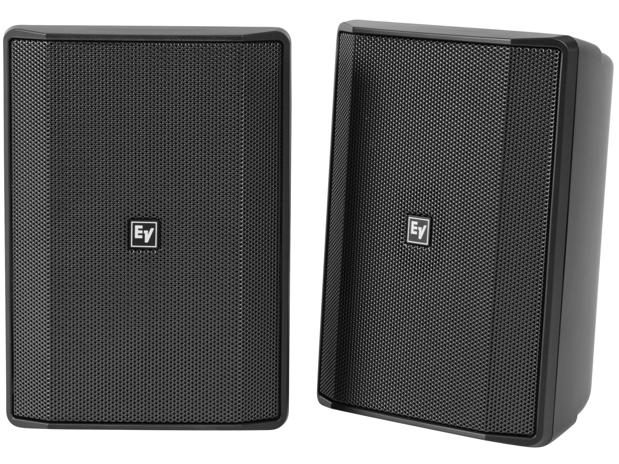 Electro-Voice EVIDS5.2XB 5 inch 70/100V IP65 Speaker Cabinet (Black/Pair)