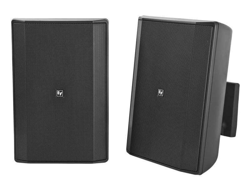 Electro-Voice EVIDS8.2TB 8 inch 70/100V Speaker Cabinet (Black/Pair)