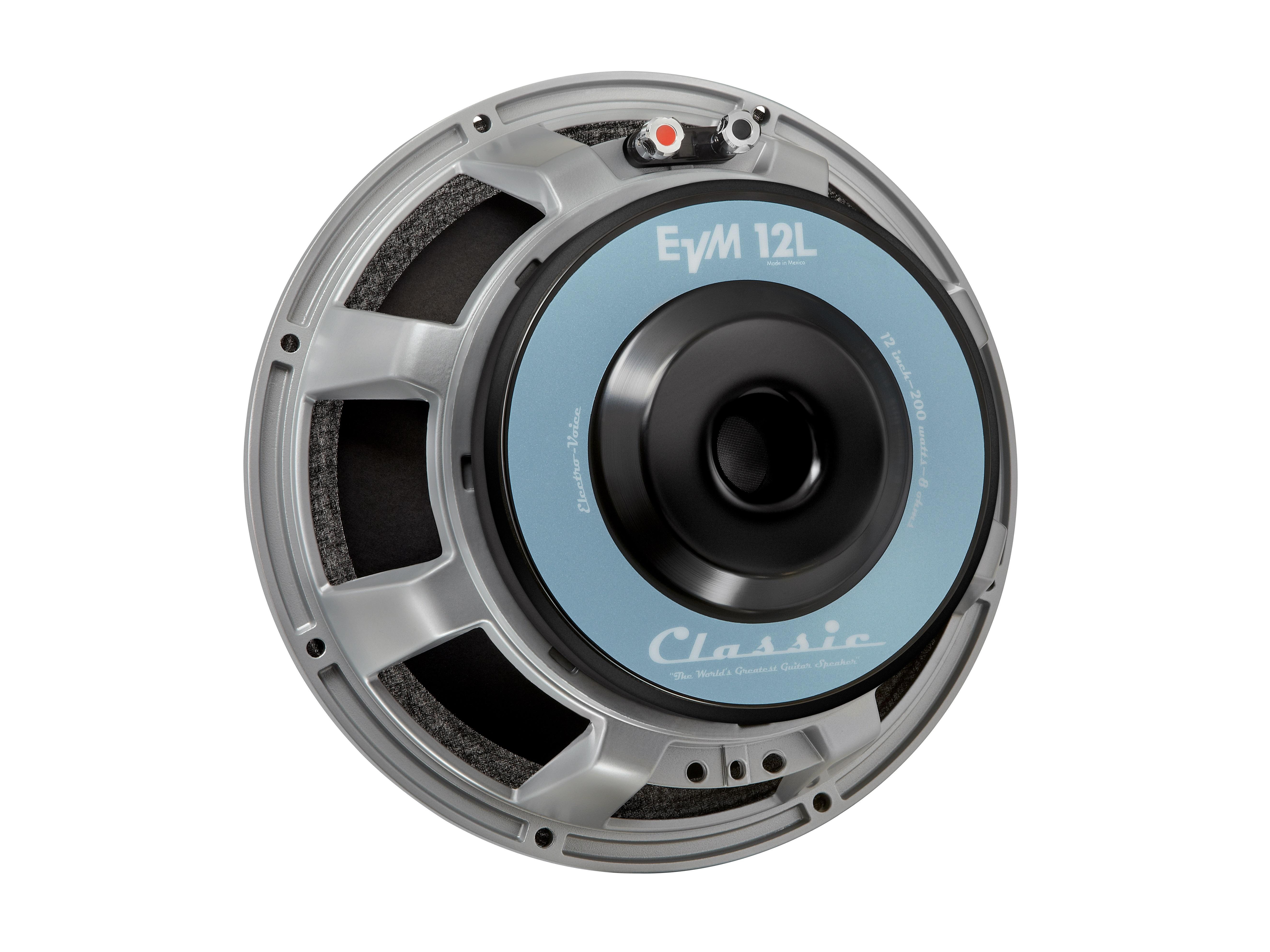 Electro-Voice EVM12L8OHMCLASSIC 12-inch/200-Watt/8 Ohms Premium Guitar Speaker