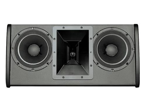 Electro-Voice FRI2082BLK FRi Series Dual 8 inch 200W RMS/800W Peak 2-Way Speaker (Black/U-Bracket)