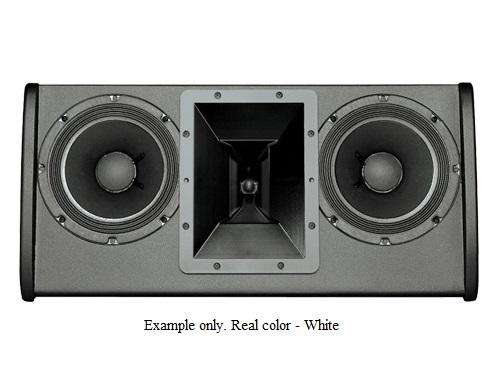 Electro-Voice FRI2082WHT FRi Series Dual 8 inch 200W RMS/800W Peak 2-Way Speaker (White/U-Bracket)
